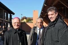 Mons. Angelo Vincenzo Zani - Dario Formenti - Don Mattia Cavazzoni
