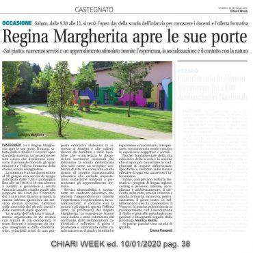 Regina Margherita apre le sue porte – Chiari week 10/01/2020 pag. 38