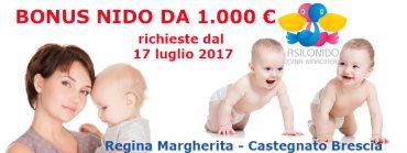 BONUS 1000 € per la frequenza al nido senza requisiti di reddito – domande dal 17 luglio