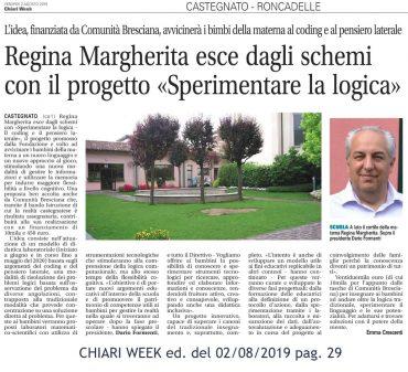 Sperimentare la logica – Chiari Week 02/08/2019 pag. 29